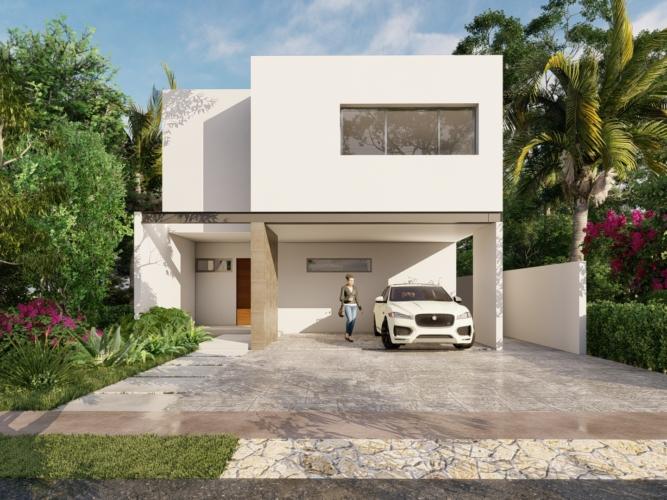 fachada vivienda proyectica arquitectos render parque central