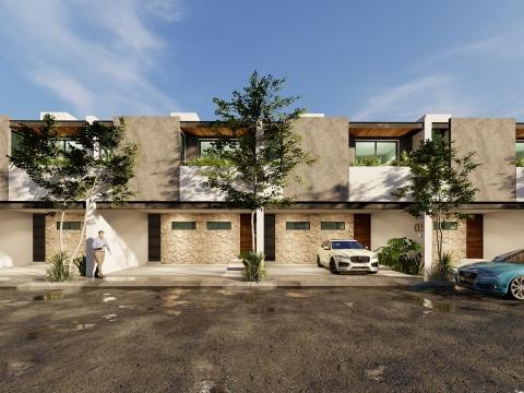 townhouse proyectica arquitectos diseño render vivivenda merida yucatan